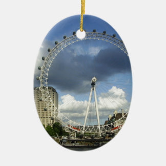 London Eye Ceramic Ornament