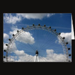 london eye circular card