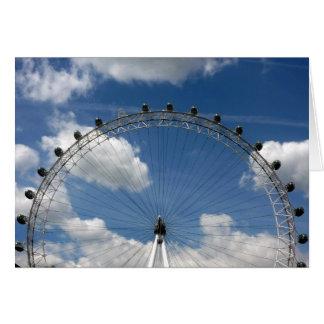 london eye circular card