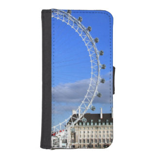 London Eye England Park British City Destiny Wallet Phone Case For iPhone SE/5/5s