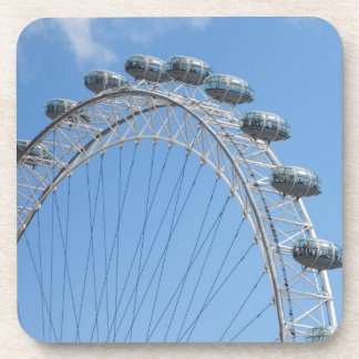 London eye ferris wheel drink coasters