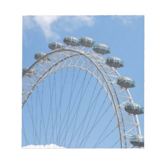 London eye ferris wheel notepad