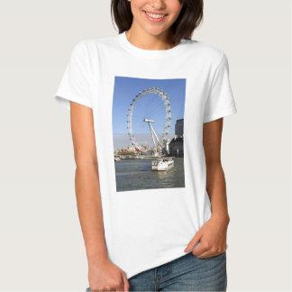 London Eye Ferris Wheel Woman's T-Shirt