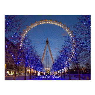 London Eye (giant Ferris wheel) Postcard