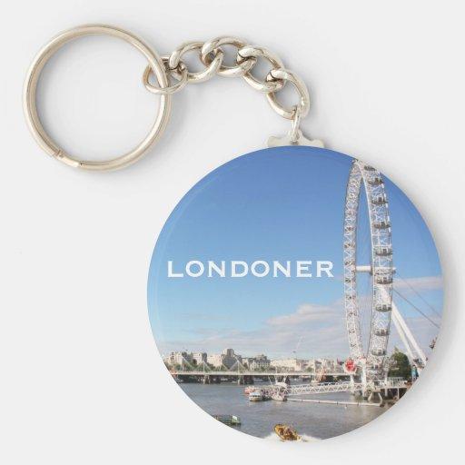 London Eye Key Chains