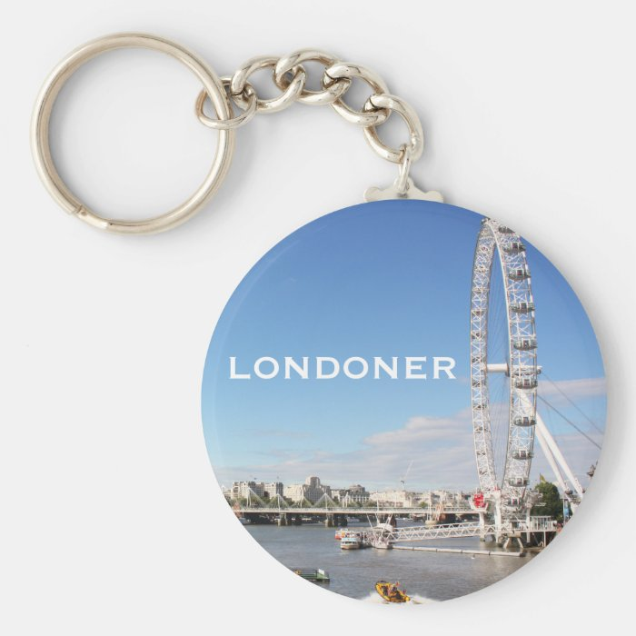 London Eye Keychain
