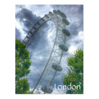London Eye Landmark Postcard