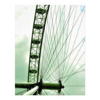 London Eye Custom Letterhead