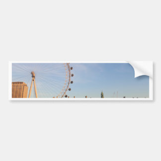 London Eye,London,England Car Bumper Sticker