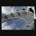 london eye metal card