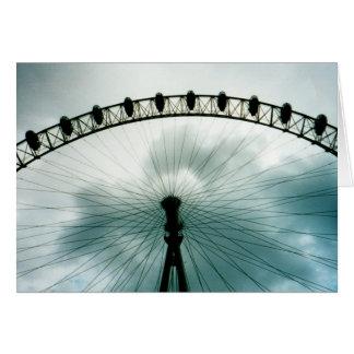 London Eye Millennium Wheel, England Card