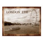 London Eye (Millennium Wheel) Postcard
