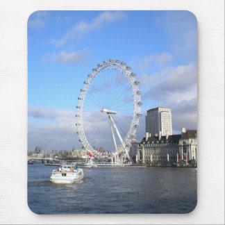 London Eye Mouse Pad