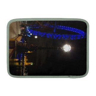 London Eye night view Sleeves For MacBook Air