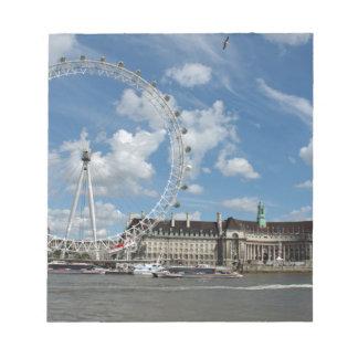 London Eye Memo Note Pad