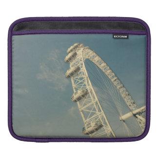 London Eye On A Blue Sky, United Kingdom Sleeve For iPads