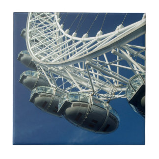 London Eye on Thames Tile