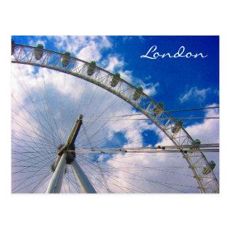 london eye postcard