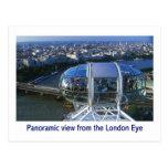 london eye postcard 17