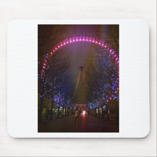 London eye red mouse pad