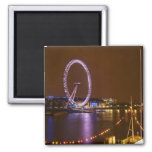 London Eye, River Thames and lights from Magnet