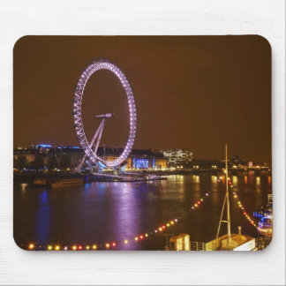 London Eye, River Thames and lights from Mouse Pad