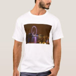 London Eye, River Thames and lights from T-Shirt
