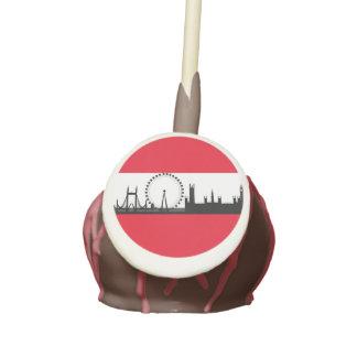 London Eye Skyline Theme Cake Pops Party Favors