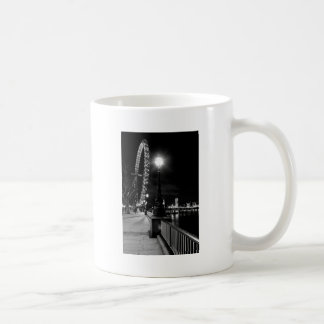 london eye southbank b w hi.jpg coffee mug