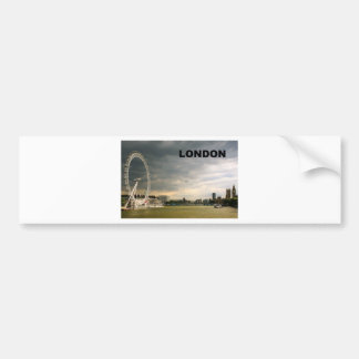 LONDON Eye (St.K) Car Bumper Sticker