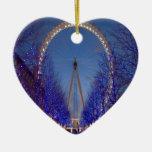 London Eye Twilight Ornament