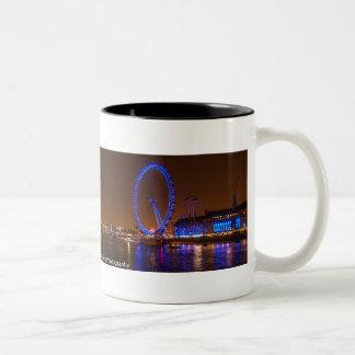London Eye Two-Tone Coffee Mug