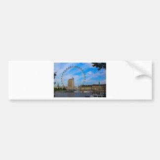 London Eye United Kingdom Car Bumper Sticker