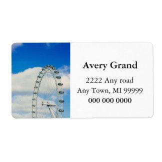 London Eye, United Kingdom Label