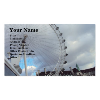 London Eye Up Close Double-Sided Standard Business Cards (Pack Of 100)