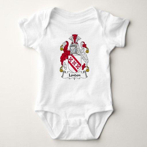 London Family Crest Tshirts