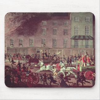 London Fire Engines, engraved by R.G. Reeve Mouse Pad