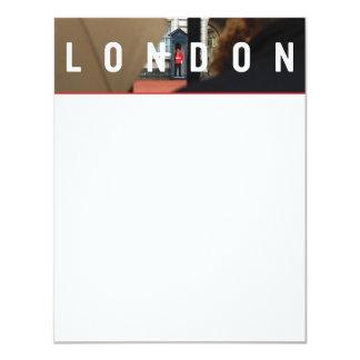 London FLAT NOTECARD