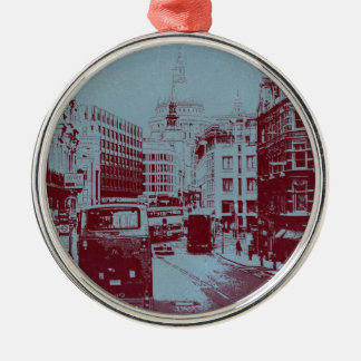 London Fleet Street Metal Ornament
