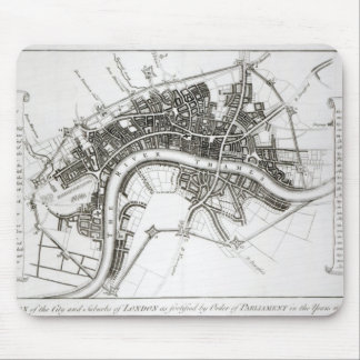 London Fortifications in 1642 and 1643, 1738 Mouse Pad