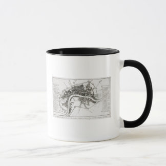 London Fortifications in 1642 and 1643, 1738 Mug
