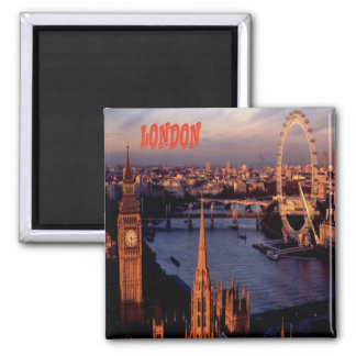 London Fridge Magnet Souvenir