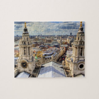 London from above jigsaw puzzle
