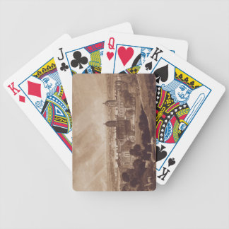 London from Greenwich, engraved by Charles Turner Bicycle Playing Cards