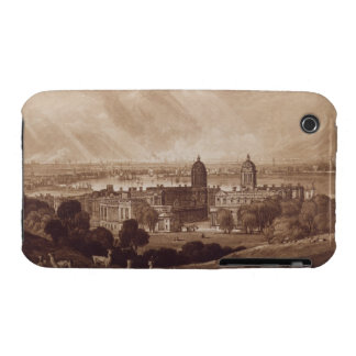 London from Greenwich, engraved by Charles Turner Case-Mate iPhone 3 Case