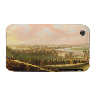 London from Greenwich Hill, c.1680 (oil on canvas) iPhone 3 Cases