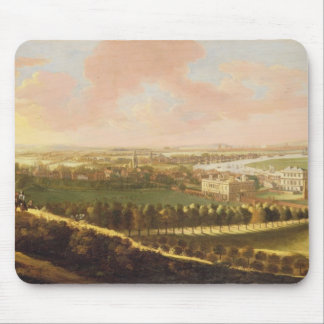 London from Greenwich Hill, c.1680 (oil on canvas) Mouse Pad