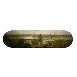 London from Greenwich Park by J M W Turner 1809 Skateboard Deck