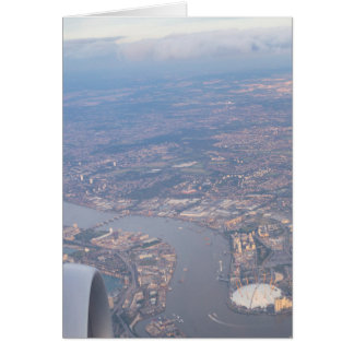 London From The Air Card