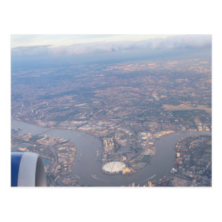 London From The Air Postcard